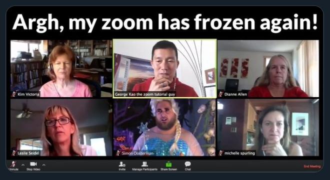 Argh frozen zoom Screen